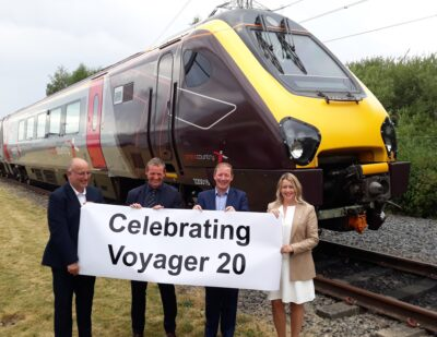 Voyager and Super Voyager Intercity Fleets Celebrate 20 Years of UK Service