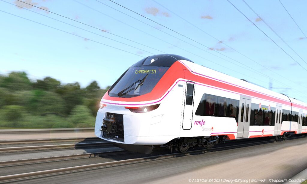 Renfe has agreed the purchase of 152 Alstom high-capacity trains for Cercanías.
