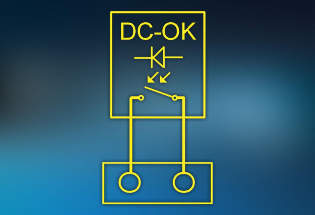 potential free DC-OK signal