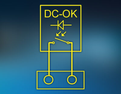 Design Flexibility Improved – New intreXis Potential-Free DC-OK Signal