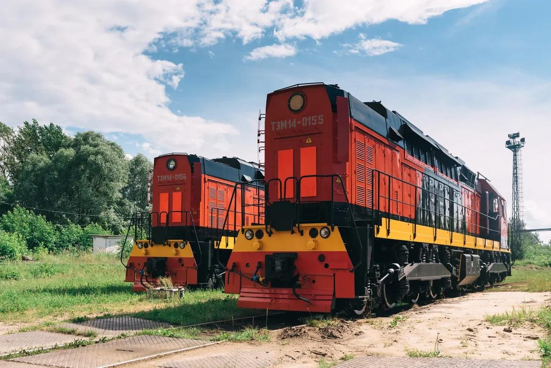 TEM14 diesel shunting locomotives for Silkway Transit