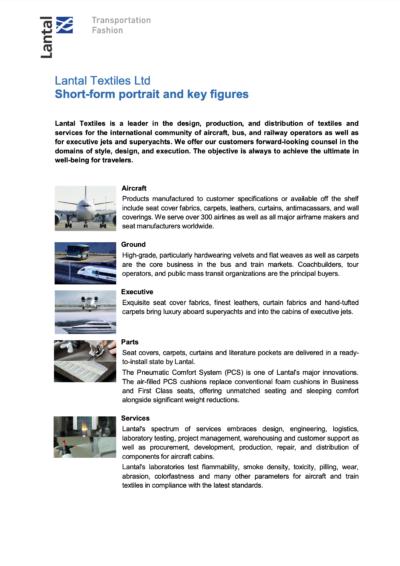 About Lantal Textiles Ltd.