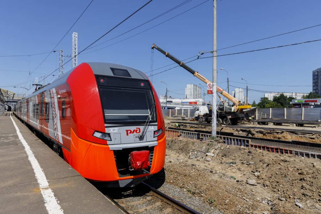 The MCD-3 will connect the north west and south east of the wider Moscow region.