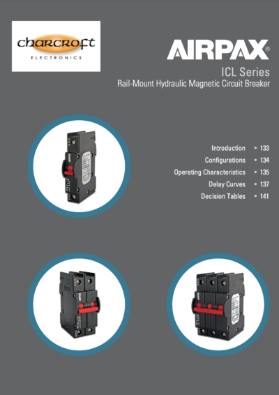 Airpax Rail-Mount Circuit Breakers