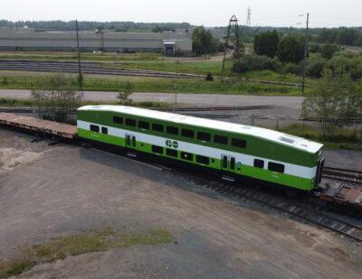 Alstom Completes Metrolinx GO Train Car Order