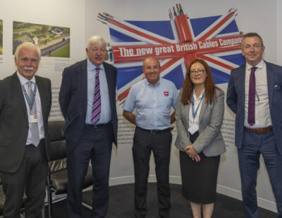 North Manchester MP Visits British Cables Company