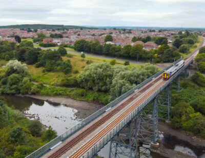 First Trains Run on Proposed Northumberland Line Route