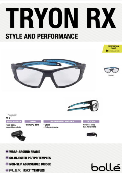 TRYON RX: Style and Performance