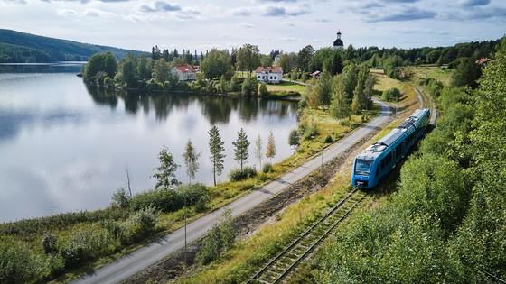 Alstom Coradia iLint in Sweden