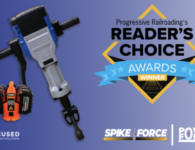 Focused Technology's SpikeForce Wins Railroad Industry Award