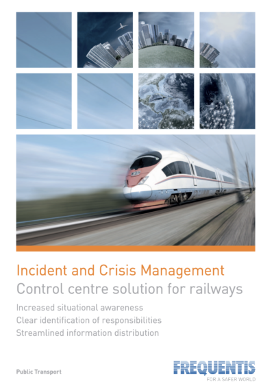 Frequentis Incident and Crisis Management Solution