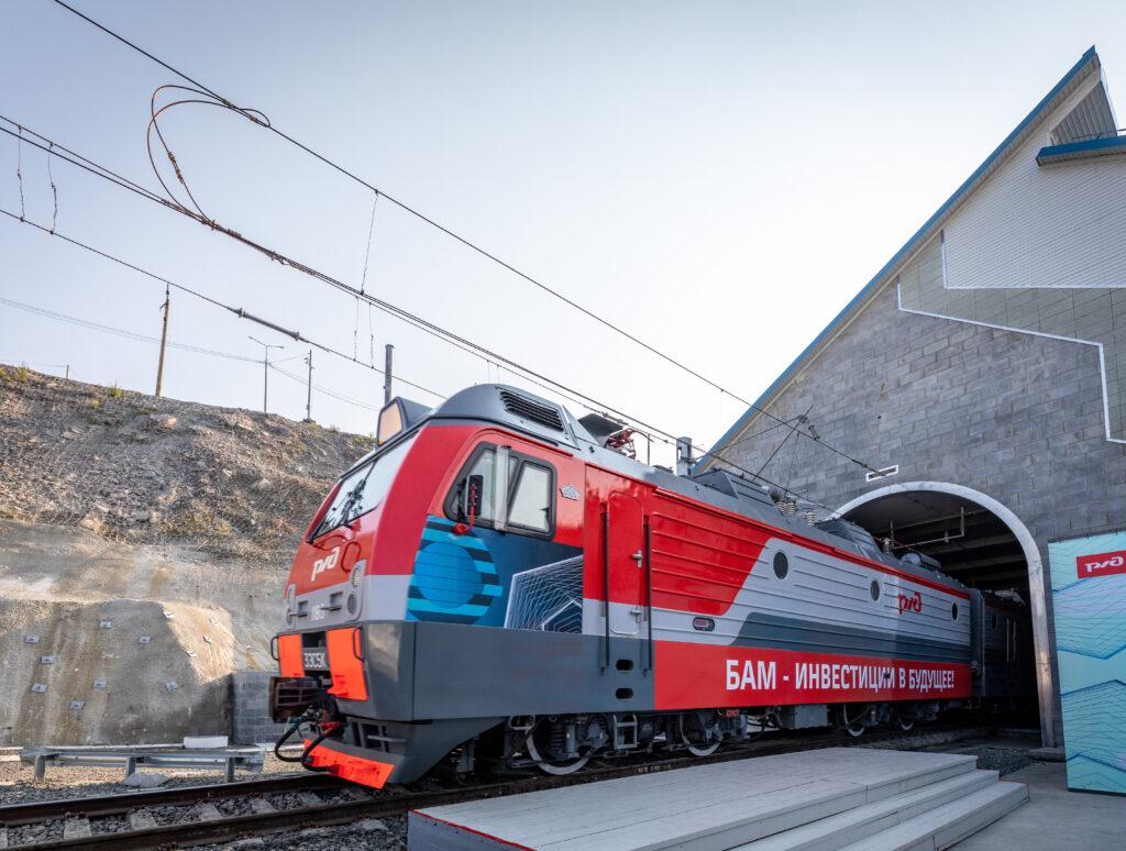The second Baikal tunnel on the Baikal-Amur Mainline opens