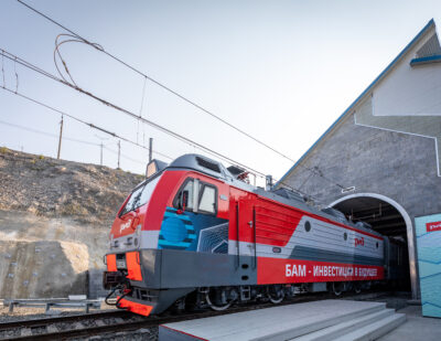Putin Opens Second Tunnel on Baikal-Amur Mainline