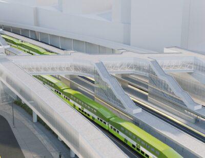 Green Light for Toronto's SmartTrack Stations Programme