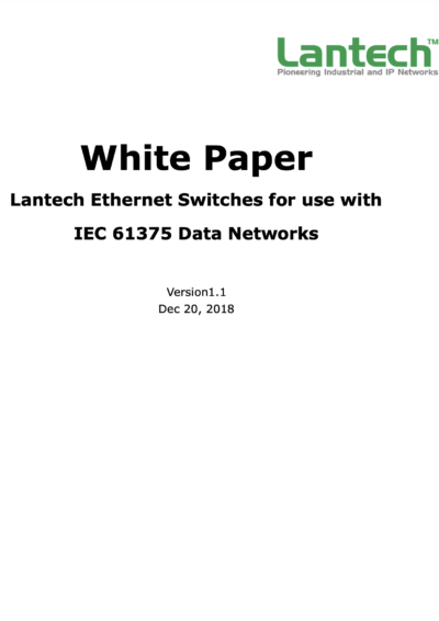Lantech Ethernet Switches