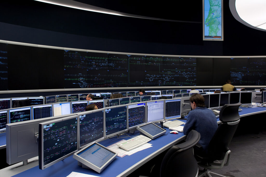 GTS' Operational Control Centre in Lisbon