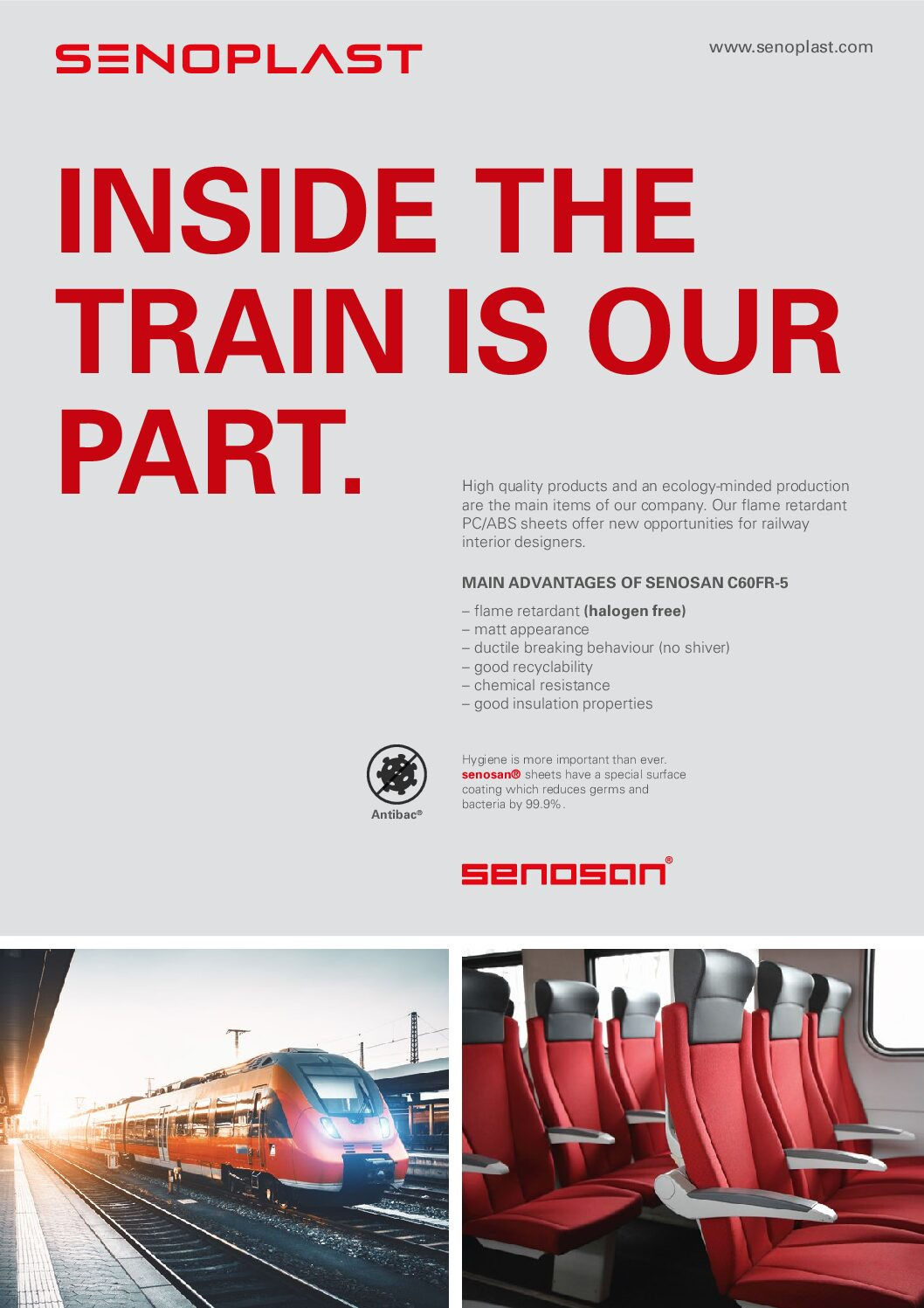Senoplast –Sheets and Films for Thermoforming and Lamination