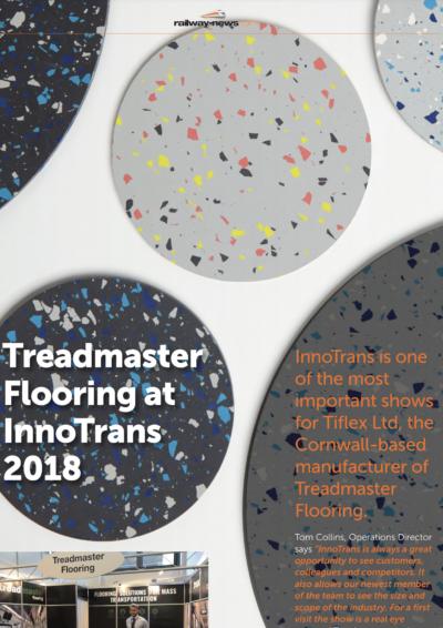 Treadmaster Flooring at InnoTrans 2018