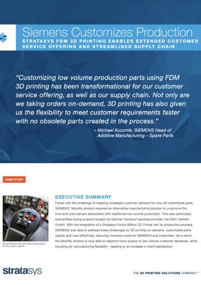Case Study: Siemens / SWU Verkehr GmbH