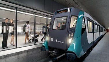 Sydney Metro West illustration