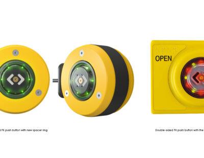 New Modern Design of the PK Push Button Series