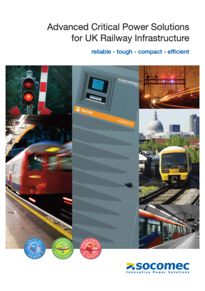 Advanced Critical Power Solutions for UK Railway Infrastructure