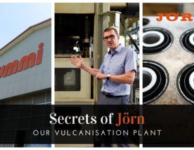 Secrets of Jörn: Vulcanisation of Rubber Metal Parts