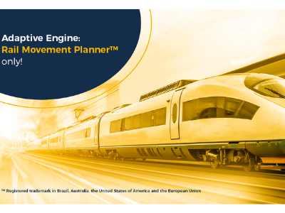 Adaptive Engine: Only Rail Movement Planner™