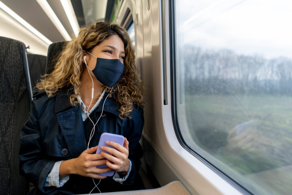 Train commuter
