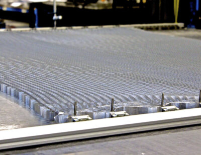 Expanding Aluminium Honeycomb Core