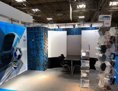 Corex Honeycomb to Exhibit at Railtex 2021