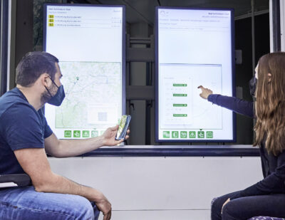 SmartMMI Technology Makes Intelligent Data Directly Available to Passengers