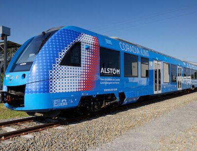 Coradia iLint Hydrogen Train Runs in France for the First Time