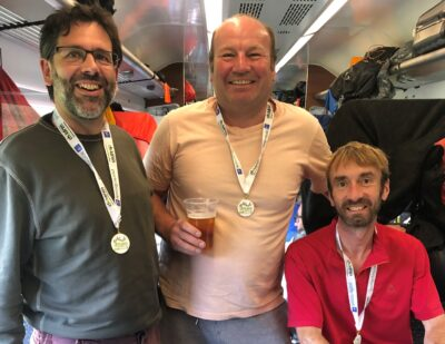 Mechan Engineers Conquer Three Peaks for Charity