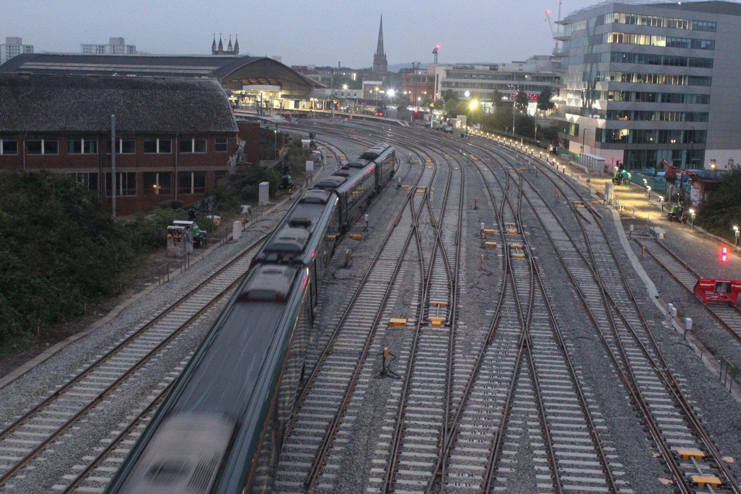 Bristol East Junction track upgrades completed