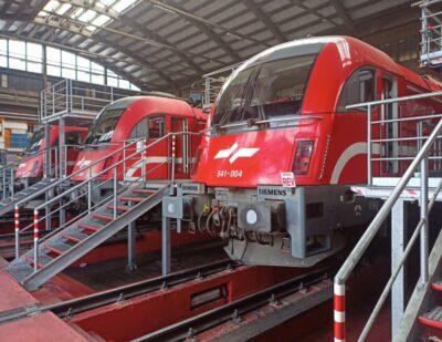 First Major Overhaul on Class 541 Taurus