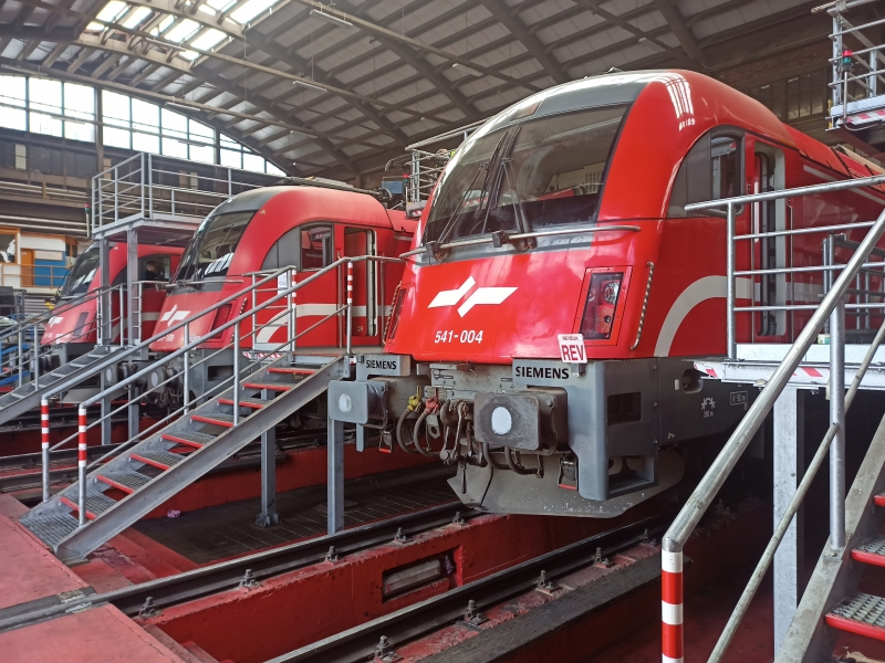 Overhaul on Class 541 Taurus