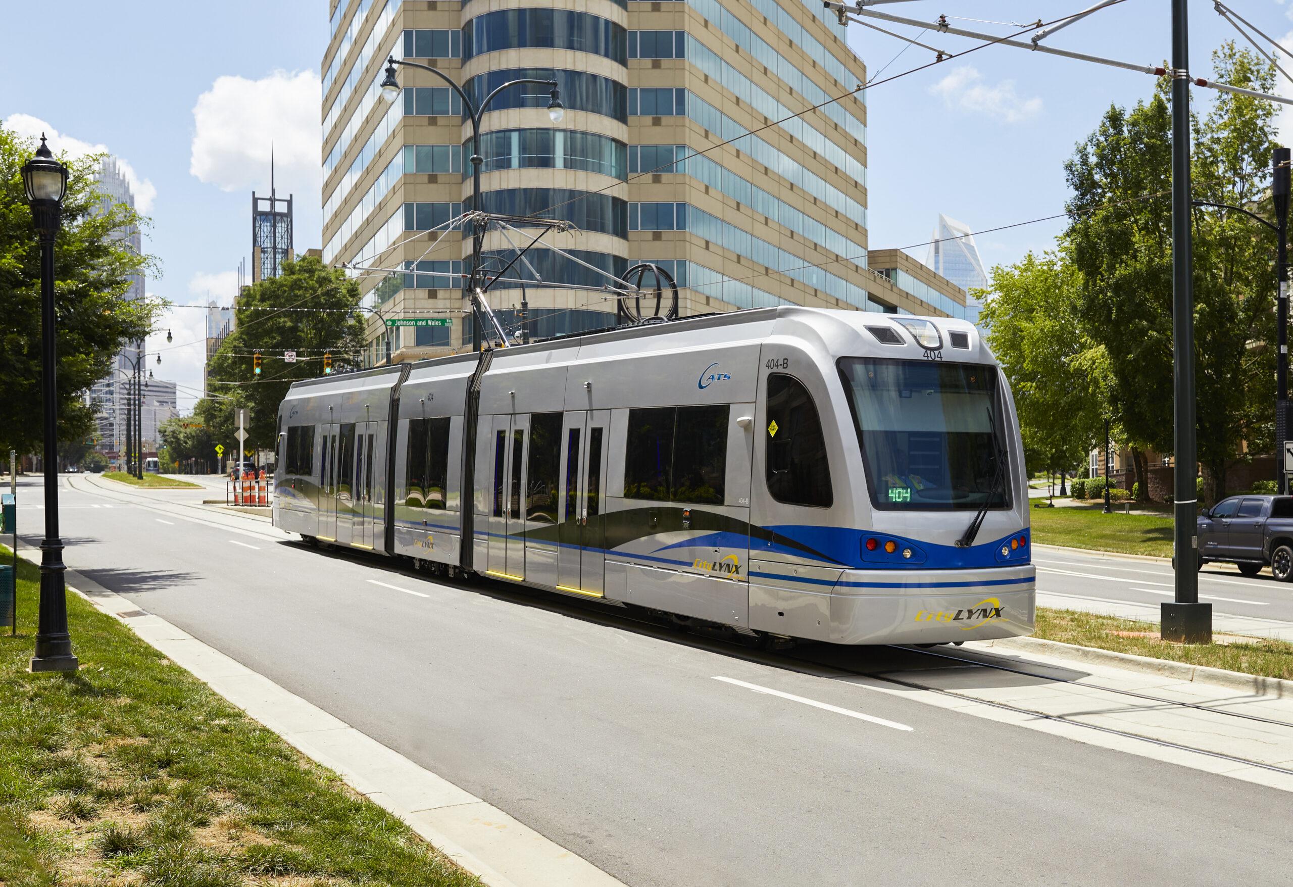 Siemens Mobility S700 Streetcar for Charlotte, USA