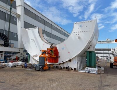 Scarborough Subway Extension Tunnel Boring Machine Undertakes Quality Control and Testing Prior to Shipment