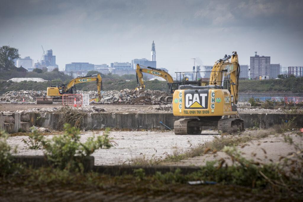 Washwood Heath construction site