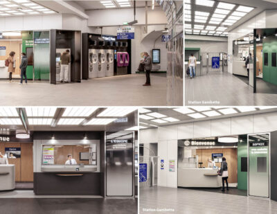Yellow Window Designs New Areas for RATP's Opéra Site