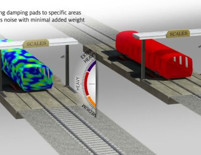 Reducing Noise and Vibration in High-Speed Trains | Henkel Rail